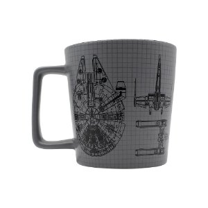 Caneca Buck 400ml Star Wars - Naves