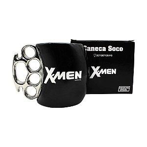 Caneca Soco Inglês 350ml X-Men - Logo