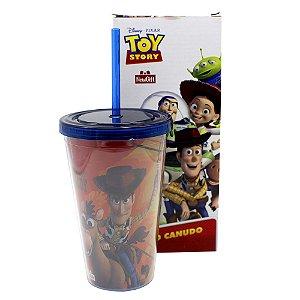 Copo com Canudo 500ml Disney - Toy Story