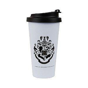 Copo para Viagem c/ Tampa 500ml Harry Potter - Hogwarts Alumni