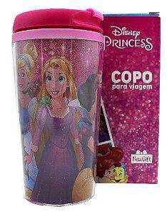 Copo para Viagem 250ml Disney - Princesas