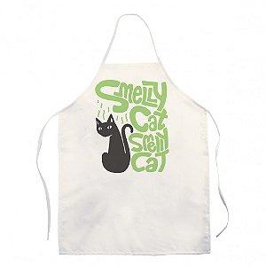 Avental Branco Friends - Smelly Cat