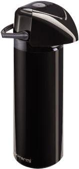 Garrafa Térmica Verona 0,6 litros Preta