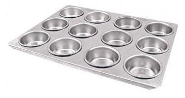 Assadeira em Alumínio para 12 cupcakes - Caparroz