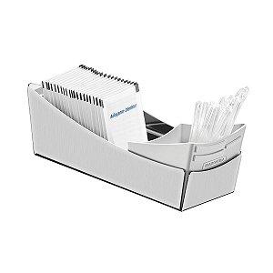 Porta Sachês - Inox - Com suporte para Colheres em plastico - Tramontina