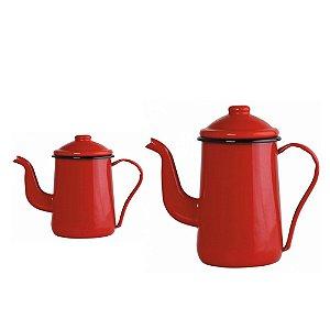 Conjunto café  - Cafeteira + Bule café - Linha Mãe Agata - Ewel