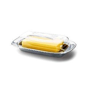 Manteigueira Com Tampa- 20 x 11,5 cm - Brinox