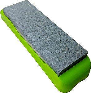 Pedra de Afiar 18,5  cm com Suporte Gp Inox