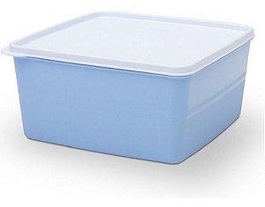 Pote Hermético Azul 500 ml Essencial Dup