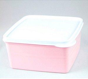 Pote Hermético Rosa 500 ml Essencial Dup