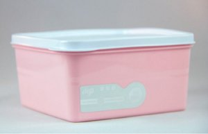 Pote Hermético Rosa 1 litro Essencial Dup
