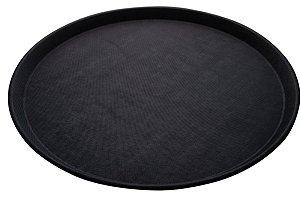 Bandeja Redonda 40 cm em Inox Anti-Derrapante Gp Inox
