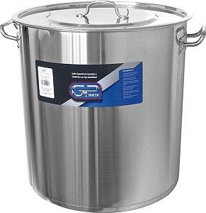 Caldeirão Nº 60 em Inox 165 litros Gp Inox