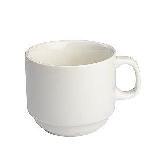 Xicara de chá empilhavel 200ml Porcelana GP INOX
