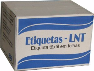 ETIQUETA DE COMPOSIÇÃO LNT2 - 25MM X 54MM - PREÇO POR MILHEIRO
