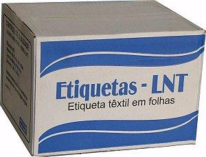 ETIQUETA DE COMPOSIÇÃO LNT4 - 33MM X 70MM - PREÇO POR MILHEIRO