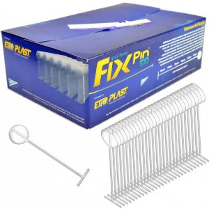 FIX PIN 100 25 MM - COR PINK - CAIXA BOX 5 MILHEIROS