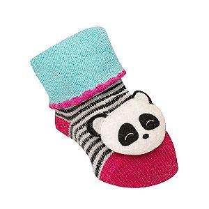 Meia Rikam RN com Aplique (Panda)