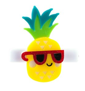 Clip  Abacaxi com Óculos de Sol