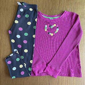 Pijama Gymboree - 7 anos