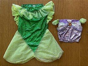 Fantasia Princesa Ariel - 6 a 7 anos
