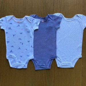 3 Body's Carter's - 12 meses