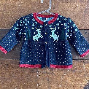 Suéter Tizzas - 6 a 12 meses