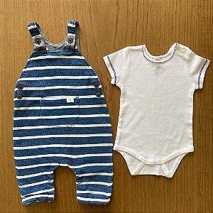 Conjunto Baby Club - 3 a 6 meses