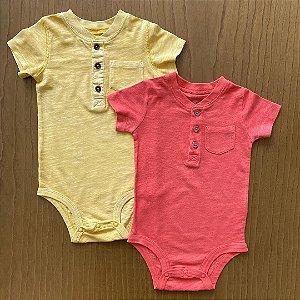2 Body's Carter's - 12 meses