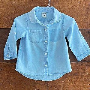 Camisa Oshkosh - 12 meses