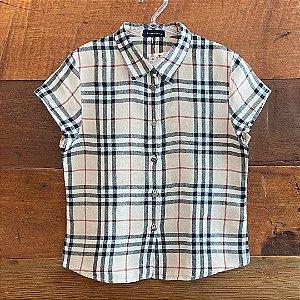 Camisa Feminina Burberry - 10 anos