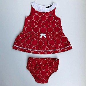 Vestido Náutica - 0-3 meses