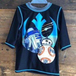 Camiseta de Praia Disney - 5-6/7-8 anos