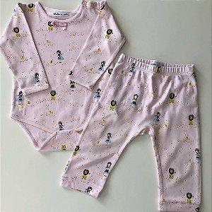Pijama Seminovo - 3-6 meses