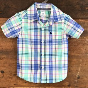 Camisa Carter's - 12 meses