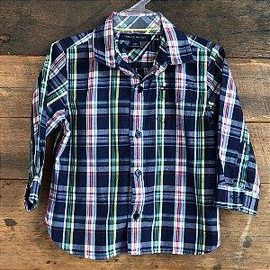 Camisa Tommy Hilfiger - 12 meses