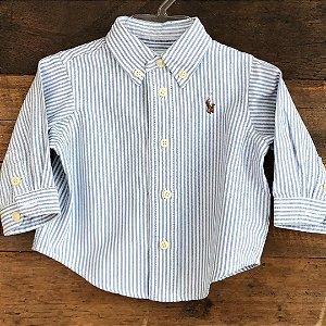 Camisa Ralph Lauren - 3 meses
