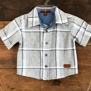 Camisa Seven - 0-3 meses