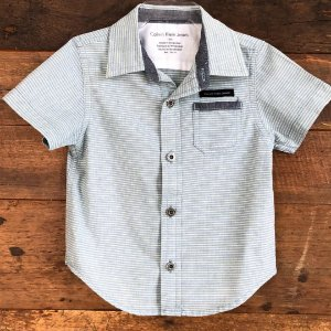 Camisa Calvin Klein - 12 meses