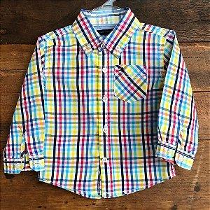 Camisa Tommy Hilfiger - 18 meses