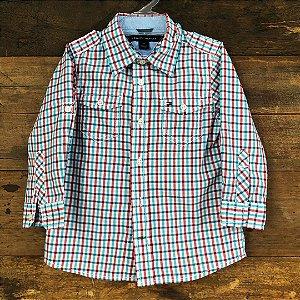 Camisa Tommy Hilfiger - 2 anos