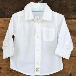 Camisa Carter's - 6 meses