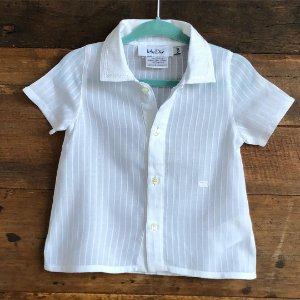 Camisa Christian Dior - 12 meses