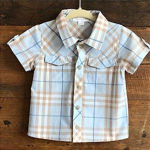 Camisa Burberry - 12 meses