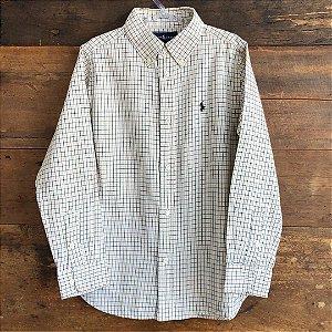 Camisa Ralph Lauren - 7 anos