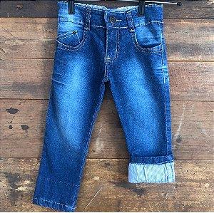 Jeans bem molinho - 2 anos