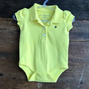 Body Tommy Hilfiger - 3 a 6 meses
