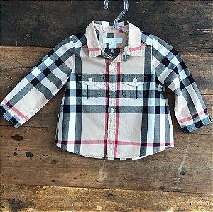 Camisa Burberry - 9 meses