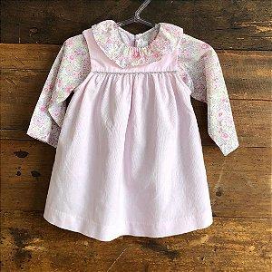 Vestido + Camisa Jacadi - 12 meses