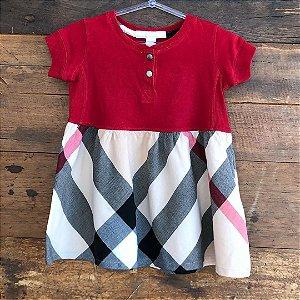 Vestido Burberry - 12 meses
